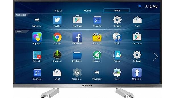 Micromax Canvas 81cm (32) HD Ready Smart LED TV