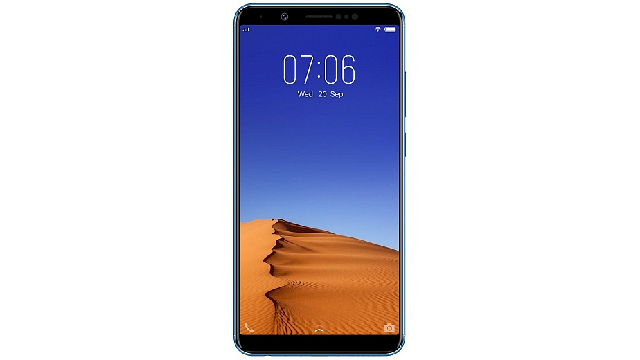 Vivo V7+ (Plus) (Energetic Blue, 4 GB RAM, 64 GB Memory)